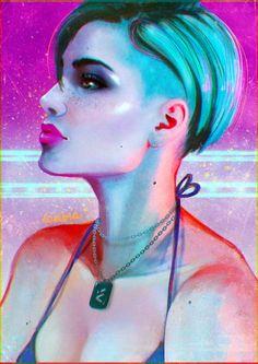 Cora Harper - Mass Effect: Andromeda by yamyamy on @DeviantArt