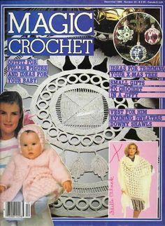 Lots of doilies ….. Magic Crochet Magazine - full of crochet patterns in English
