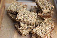 snacking made simple – peanut butter granola bars on https://amandaskrip.com