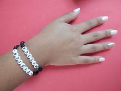 50 pk Baby Reveal Party Favors Sister Bracelet by StacheMeIfYouCan, $37.50