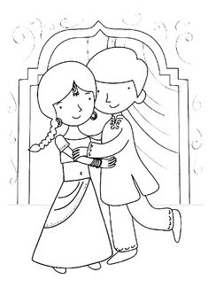 Bhai Dooj coloring page. Presents are given and delicious holiday food is prepared and exchanged. New clothes and jewellery are worn. Parties are held, and dice and card games are played Drawing For Kids, Art For Kids, Word Puzzles For Kids, Origami Letter, Activity Village, Diwali Festival Of Lights, Festival Background, Diwali Celebration, Asia