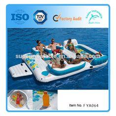 1000 id es sur le gonflable sur pinterest jouets de piscine jouets de l - Ile gonflable piscine ...