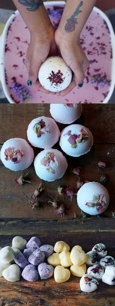Make bath balls yourself are a super simple, but also .- Badekugeln selber machen sind ein super einfaches, aber auch superschönes Gesch… Make bath balls yourself are a super simple, but also super beautiful gift. We reveal how it& going. Diy Gifts, Christmas Gifts, Presents For Her, Holiday Break, Diy Beauty, Super Easy, Diy And Crafts, Projects To Try, How To Make