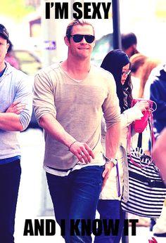 Chris Hemsworth I ♡♥♡♥♡♥♡ this man!!!