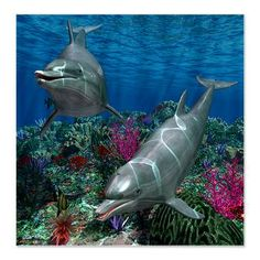 Ocean World 1 Shower Curtain