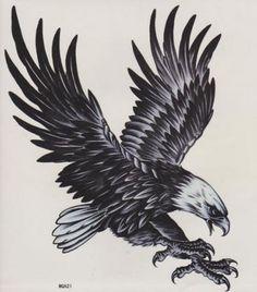 eagle tattoo design                                                                                                                                                                                 More