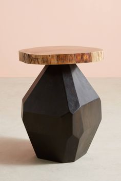 Slide View: 1: Thorntree Side Table, Small