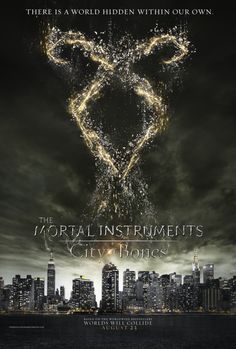 The Mortal Instruments: City of Bones Trailer and Posters