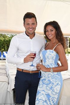 That saves a couple of pounds: Michelle looked lovely in a dress from high street store Li...
