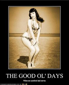 the good ol' days...when sex symbols had curves