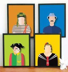 4 Posters do Seriado Chaves