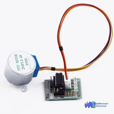 The stepper motor is ideally suited to your Arduino project using 5 vdc logic level control The stepper motor is a 4 pole unit and steps per pulse The motor incorporates a reduction gearing, increasing torq Arduino Projects, Stepper Motor, Raspberry, Board, Raspberries, Planks