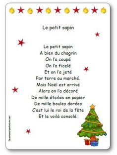 French Teaching Resources, Teaching French, Teaching Kids, Christmas Poems, All Things Christmas, French Poems, Happy New Year Message, Core French, French Education