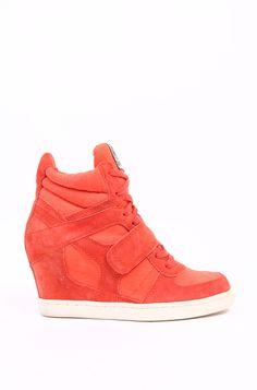 Ash As Cool Sneaker Wedge in Orange