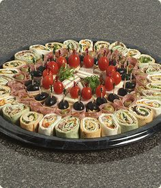 Appetizers For Party Party Snacks Appetizer Recipes Salad Recipes Snack Recipes Grazing Tables Party Trays Party Finger Foods Game Day FoodChef Knows Best cateringAppetizer table- Sandwiches, roll ups, Wings, veggies, frui Finger Food Appetizers, Appetizers For Party, Appetizer Recipes, Party Food Platters, Food Trays, Meat Trays, Meat Platter, Meat Cheese Platters, Sandwich Platter