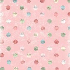 Melissa Frances - Thankful Collection - 12 x 12 Paper - I Walk For at Scrapbook.com $0.71
