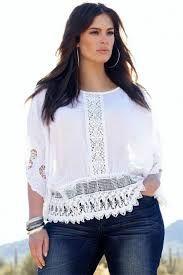 Resultado de imagen para blusas blancas