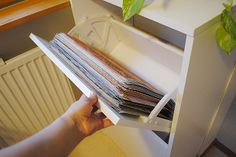 """Anski in Paperilla: How to store your 12""""x12"""" papers"""
