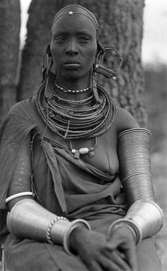 Maasai Woman, Kenya