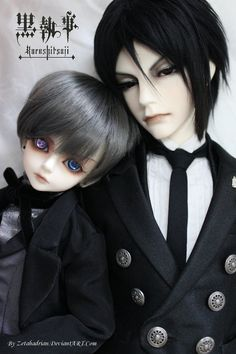 Ciel and Sebastian - a by Zetahadrian on deviantART