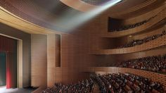 2012 China, Tianjin  Tianjin Grand Theater-gmp Architekten von Gerkan, Marg und Partner