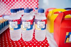 Wiggles Water Bottle Label - INSTANT DOWNLOAD - WATER BOTTLE LABELS - Jo Studio - Party Printables and Custom Invitations