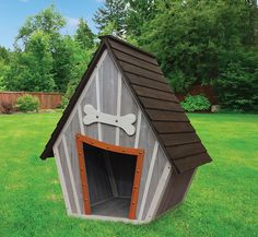 Innovation Pet Houses and Paws Whimsical Dog House - luxury dog kennel Modern Dog Houses, Pet Houses, Cheap Dog Houses, Plastic Dog House, Wood Dog House, Dog House Plans, Home Buying Tips, Dog Furniture, Bathroom Furniture