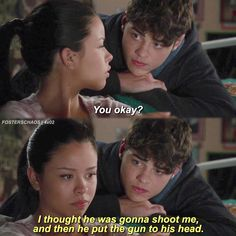 "#TheFosters 4x02 ""Safe"" - Mariana and Jesus"
