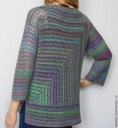 Fabulous Crochet a Little Black Crochet Dress Ideas. Georgeous Crochet a Little Black Crochet Dress Ideas. Gilet Crochet, Crochet Jacket, Freeform Crochet, Tapestry Crochet, Crochet Cardigan, Knit Crochet, Crochet Stitches, Crochet Bodycon Dresses, Black Crochet Dress