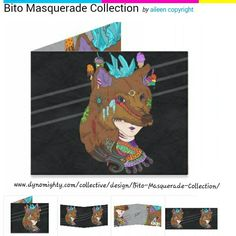 $20 wallets https://www.dynomighty.com/collective/design/Bito-Masquerade-Collection/