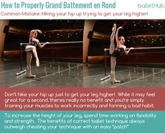 How to Properly Grand Battement en Rond -  Common Mistakes |  #ballet | BalletHub