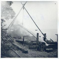 Kurisches Haff, Bootsbau