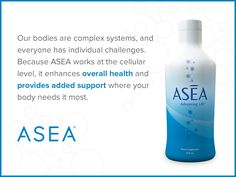 Support for your body starts on a cellular level.