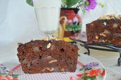 Австрийский шоколадный пирог с пьяными грушами