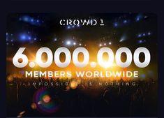 "@crowd1earner shared a photo on Instagram: ""The future looks bright! Impossible is Nothing.  #crowd1 #onlinemarketing #teamwork #teamworkmakesthedreamwork #millionaire…"" • Jun 17, 2020 at 5:54am UTC Teamwork, Jun, Online Marketing, Bright, Future, Instagram, Future Tense, Internet Marketing"