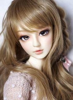 The Porcelain China Diane Lifelike Dolls, Realistic Dolls, Beautiful Barbie Dolls, Pretty Dolls, Anime Dolls, Bjd Dolls, Enchanted Doll, Cute Baby Dolls, Kawaii Doll