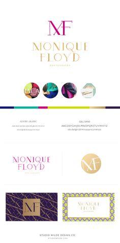 Brand Board for Monique Floyd Photography | Studio Wilde Design Co.