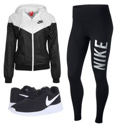 """Untitled #148"" by imfamousinla on Polyvore featuring NIKE"