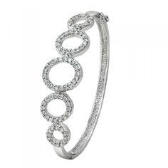 Peora | The Dania Bangle - Bangles and Bracelets - Women's Jewellery - Jewellery | Fine Silver Jewellery