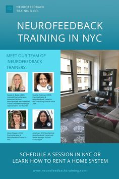 The NYC Neurofeedback Training Co. location is at 32 Union Square East, Suite 1017, New York, NY 10003. Our experienced neurofeedback trainer team in New York also offer therapy which can be combined with a neurofeedback session. We also provide neurofeedback equipment for rent and sale. Learn more about our team. Neurofeedback Therapy, Solution Focused Therapy, Brain Waves, Union Square, Brain Training, Anger Management, Stress Relief, Health And Wellness, Trainers