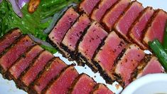 This is an elegantly simple way to cook tuna that any restaurant would be jealous of!