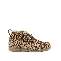 Invito luipaardprint desert boots