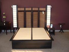 Bosun Deluxe Platform Bed with Tatami Lights - foamorder.com®
