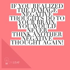 Cast down negative thoughts and replace with positive Dr Caroline Leaf, Leaf Quotes, Mind Diet, Good Mental Health, Brain Health, Healthy Brain, Word Pictures, Negative Thoughts, Positive Attitude