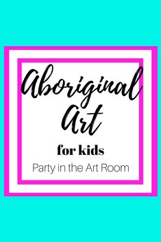 Students roll a number cube to create a work of art in the style of an Aboriginal Dreaming. Amanda Koonlaba | Party in the Art Room | Teachers Pay Teachers  #subplans #artprojectforkids