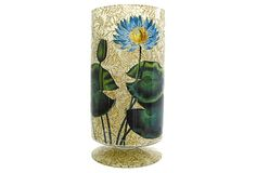 "15"" Water Lilies on Gold Vase on OneKingsLane.com"