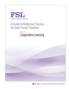 A Guide to Reflective Practice for Core French Teachers - FSL