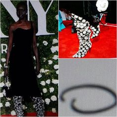 VOGUE NEWs&TRENDS. TONY AWARDS 2017...CELEBRATE STYLE. Alek Wek, Oscar De la Renta DESIG Dress, Pretty&STYLE ACCESSORIES Bag&Shoes. Pretty Style, I Like. You? SMILE  @oscardelarenta @voguemagazine #world #fashion #culture #tonyawards #2017 #celebratestyle #desig #fampus #popular #accessories #dress #shoes #bags #style #fashionblog #blog ❤🌍📰💡📷👀☺😉👌🙋