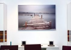 Herschel Inspire Infrared Heating Panel Picture - take your fav picture and double it up as a heater as well. Takes no space whatsoever.