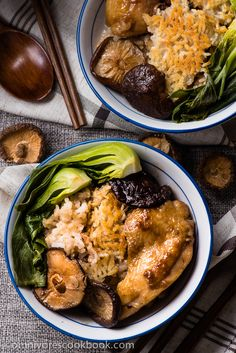 The Best Clay Pot Chicken Rice - the recipe teaches you the easiest way to create a super flavorful one-dish meal without a clay pot or rice cooker